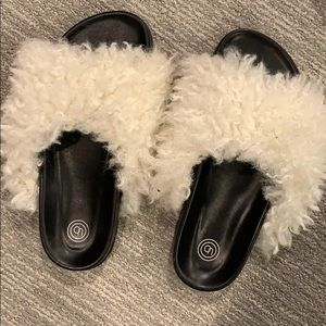 Urban outfitters lamb slides